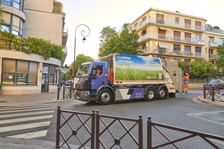 Renault'nun elektrikli kamyonları, Fransa'da evsel atık topluyor 3