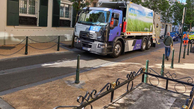 Renault'nun elektrikli kamyonları, Fransa'da evsel atık topluyor 5
