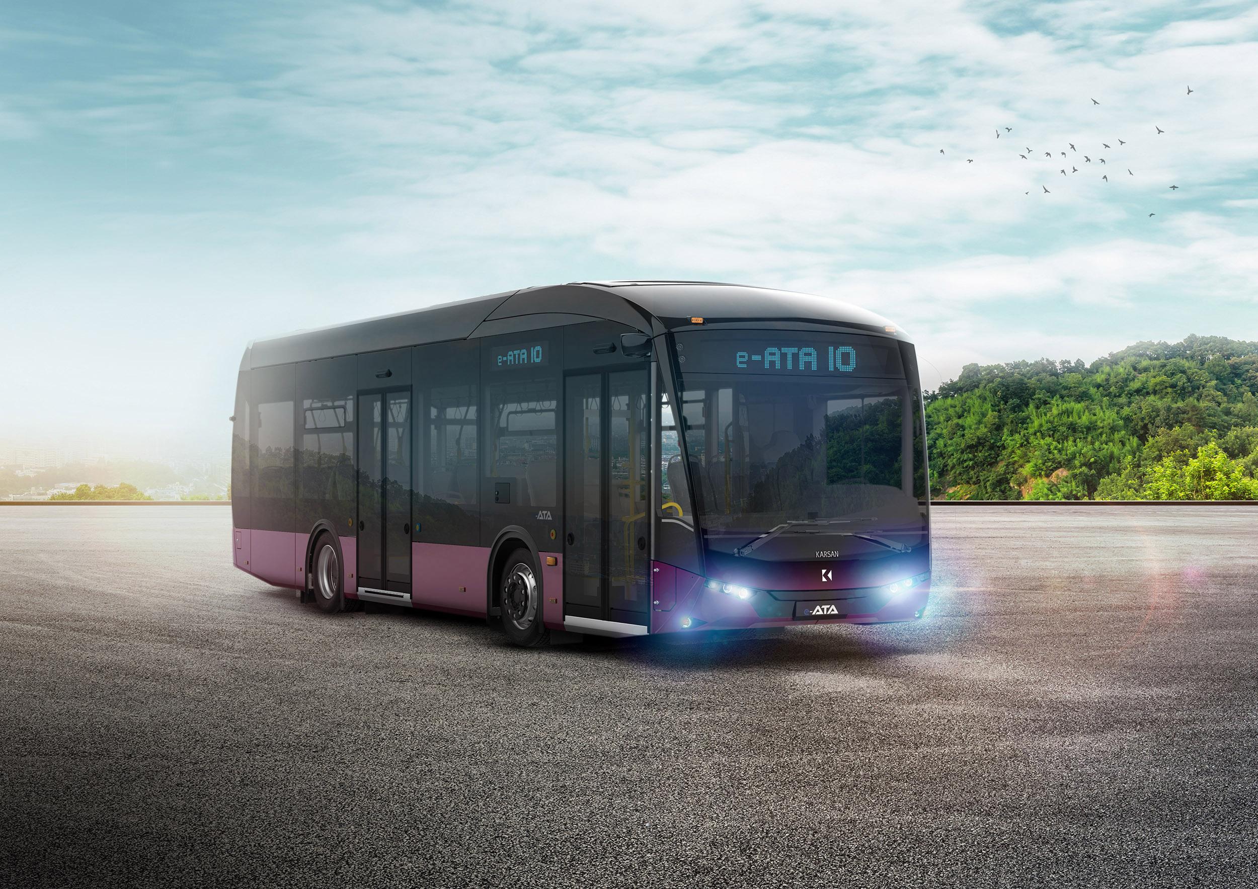 Karsan'dan %100 elektrikli otobüs e-ATA 1
