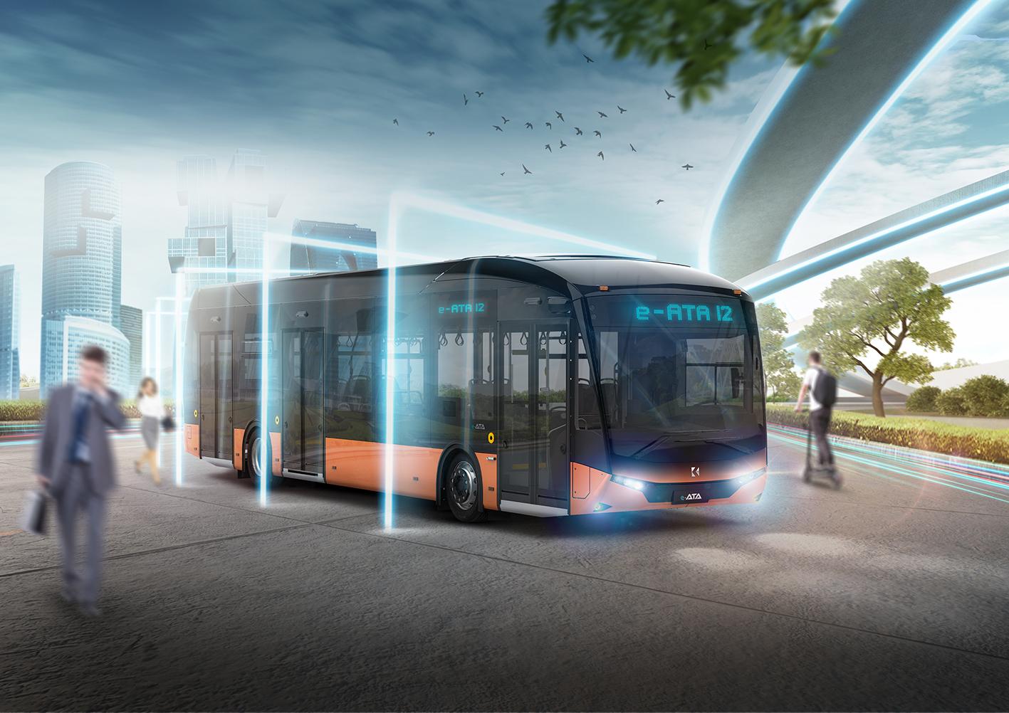 Karsan'dan %100 elektrikli otobüs e-ATA 3