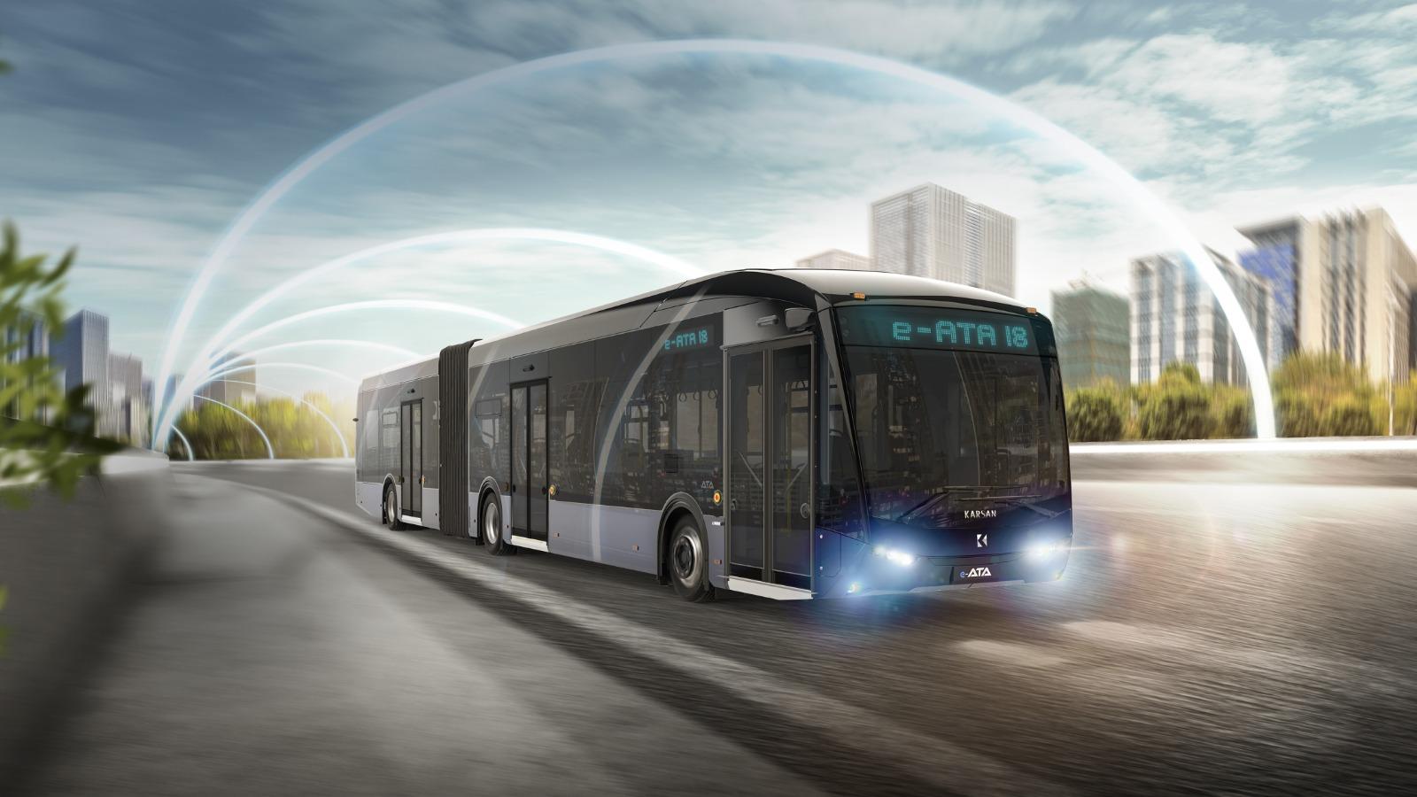 Karsan'dan %100 elektrikli otobüs e-ATA 4
