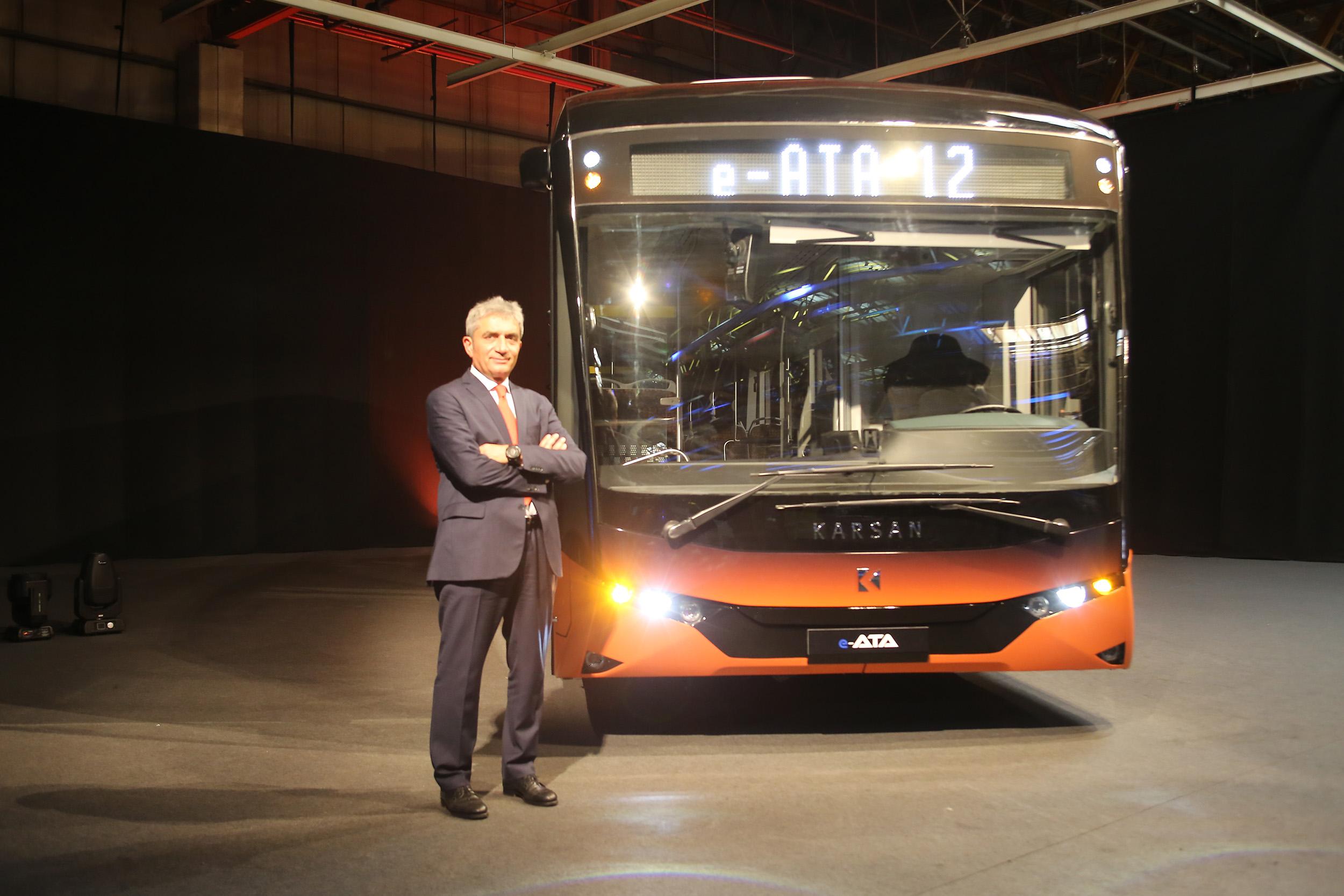 Karsan'dan %100 elektrikli otobüs e-ATA 5