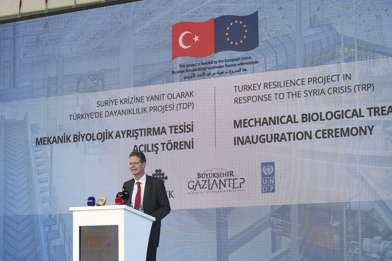 Gaziantep'te katı atıklar enerjiye dönüşecek 19