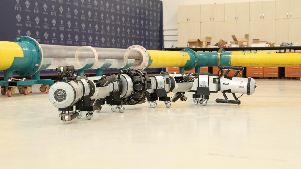 İGDAŞ'ın robotu, boruları içeriden gözleyecek 11