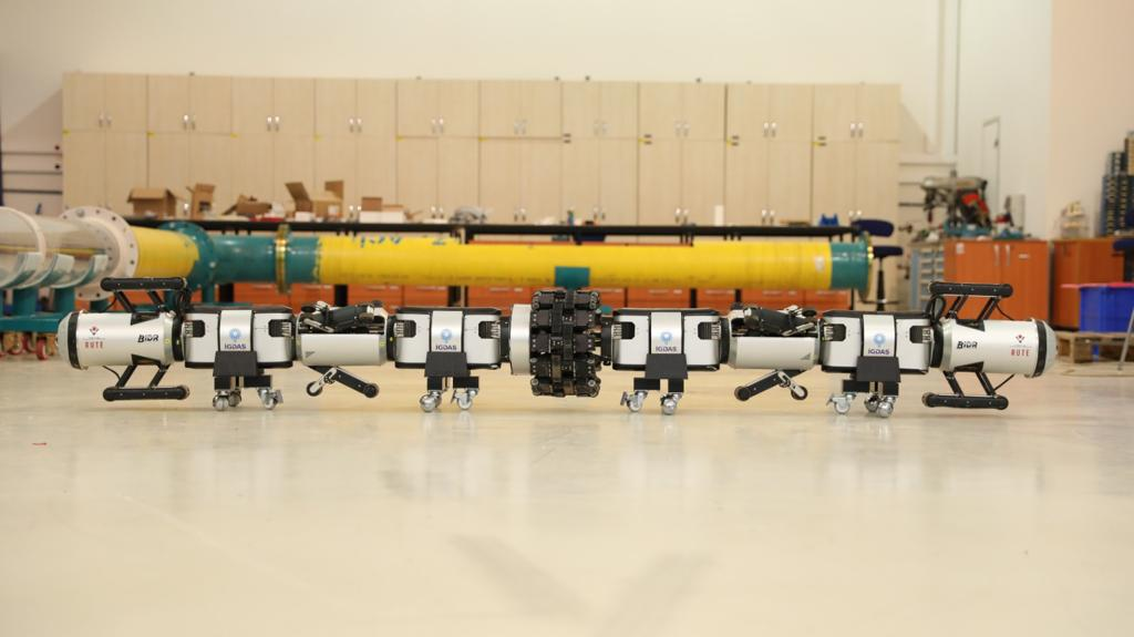 İGDAŞ'ın robotu, boruları içeriden gözleyecek 14