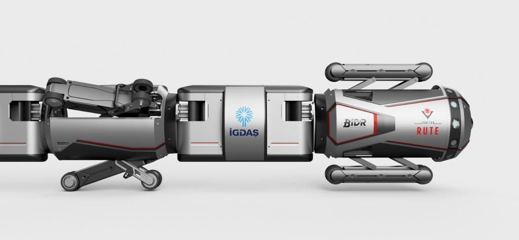 İGDAŞ'ın robotu, boruları içeriden gözleyecek 15