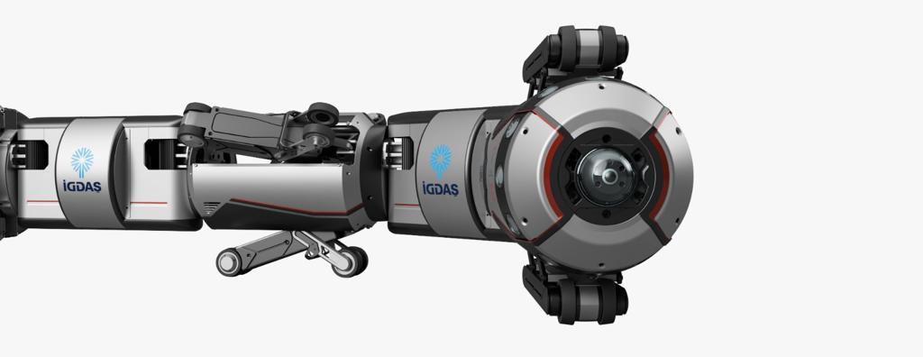 İGDAŞ'ın robotu, boruları içeriden gözleyecek 16