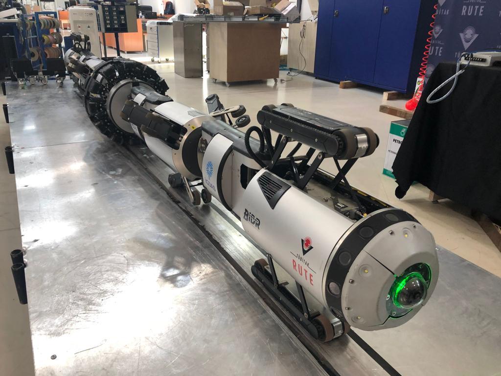 İGDAŞ'ın robotu, boruları içeriden gözleyecek 4