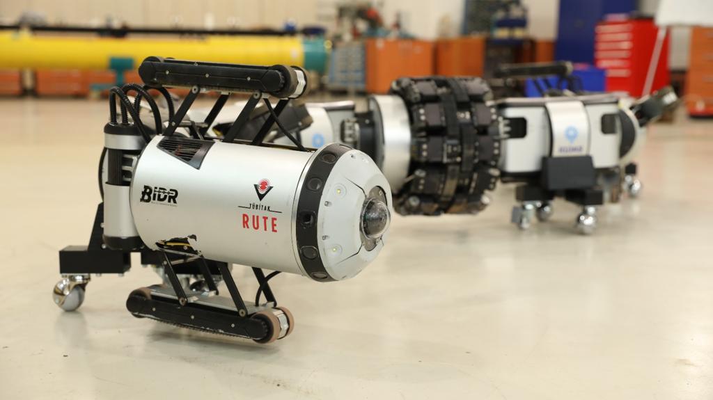 İGDAŞ'ın robotu, boruları içeriden gözleyecek 8
