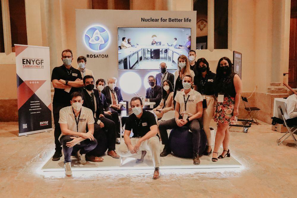 Rosatom, İspanya'da gençlere 'Akkuyu NGS'yi' anlattı 1