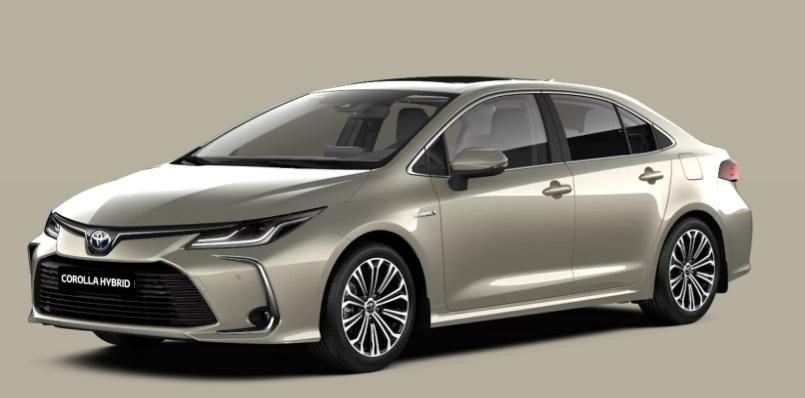 Hibridin galibi Toyota 1