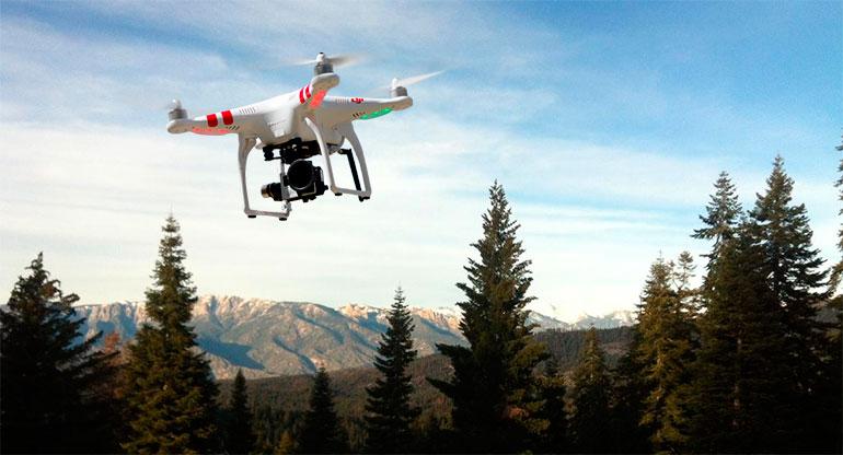 Orman yangınlarıyla mücadeleye 'dronlu' destek 3