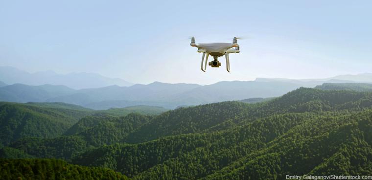 Orman yangınlarıyla mücadeleye 'dronlu' destek 4