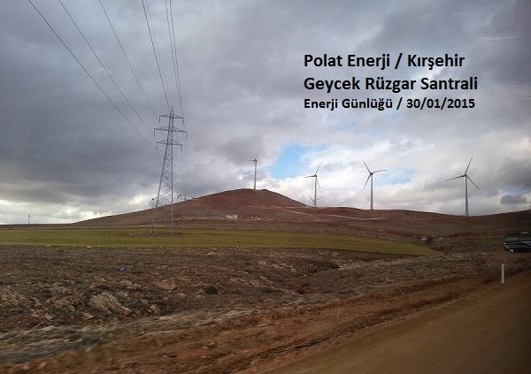 En büyük rüzgar santrali Geycek devrede!