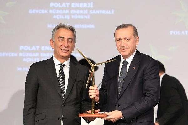 Polat Enerji Geycek RES resmen açıldı