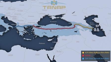 TANAP`ın temeli 17 Mart`ta atılacak