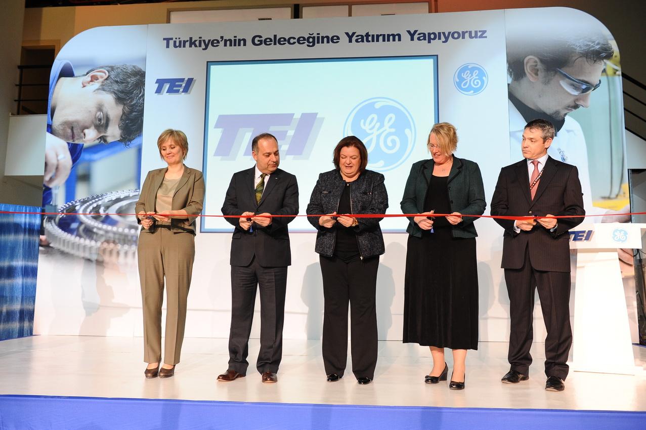 General Electric ve TEI`den 5 milyon dolarlık Teknoloji Merkezi