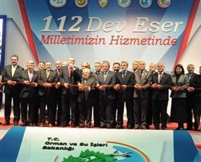 Başbakan 112 tesisin açılışını gerçekleştirdi