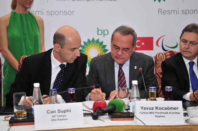 BP'den, Londra Paralimpik Oyunlarına destek