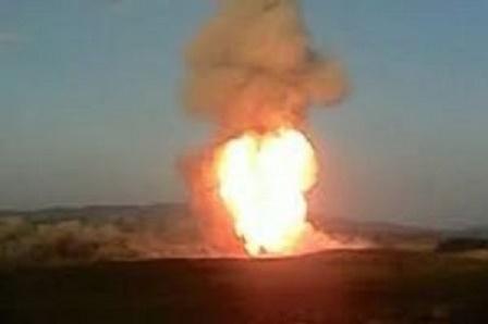 Bakü-Erzurum Doğalgaz Boru Hattı`nda patlama