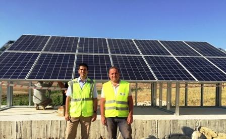 Elektriksiz köye güneş enerjisi ile içme suyu