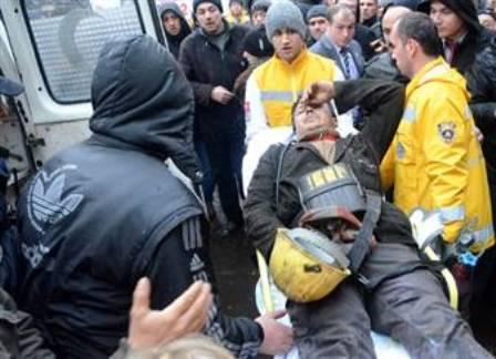 """Zonguldak`ta bir maden ocağında """"gaz"""" faciası, 8 ölü"""