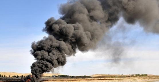 Kerkük-Yumurtalık Hattı`nda yangın çıktı, petrol akışı durdu