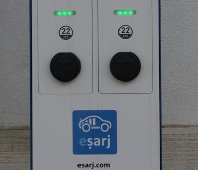 Eşarj, Sabancı Üniversitesi`ne şarj istasyonu kurdu