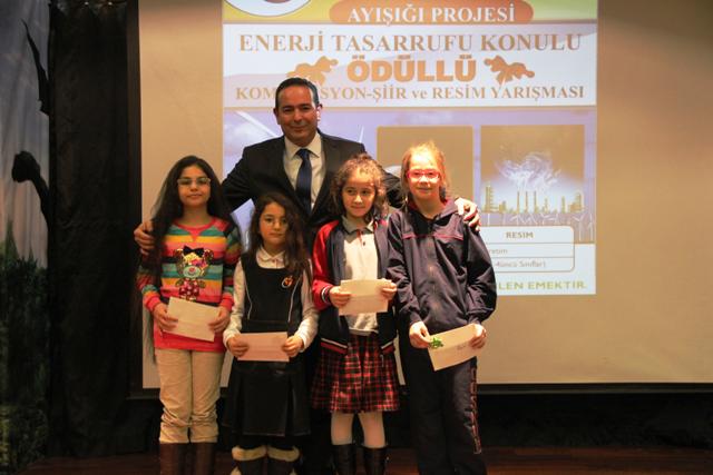 AYEDAŞ`tan enerji tasarrufunu anlatan miniklere ödül