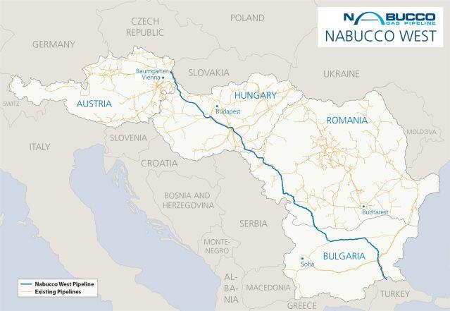 Bayerngas, Nabucco West`e katılmaktan vaz geçti