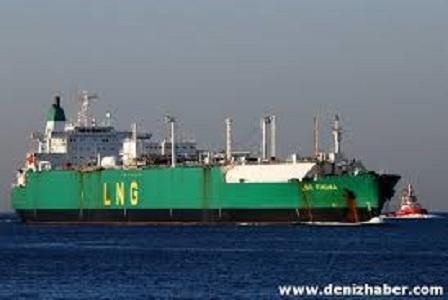 Pakistan`a ilk Katar LNG kargosu ulaştı