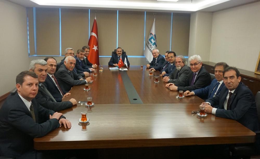 GAZBİR'den EPDK Başkanı'na kutlama