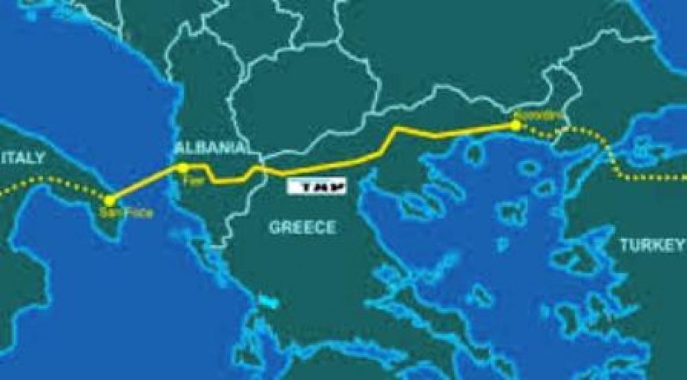 Arnavutluk'ta TAP inşaasına başlandı