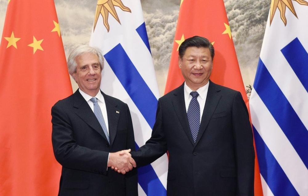 Çin ile Uruguay stratejik ortaklık kurdu