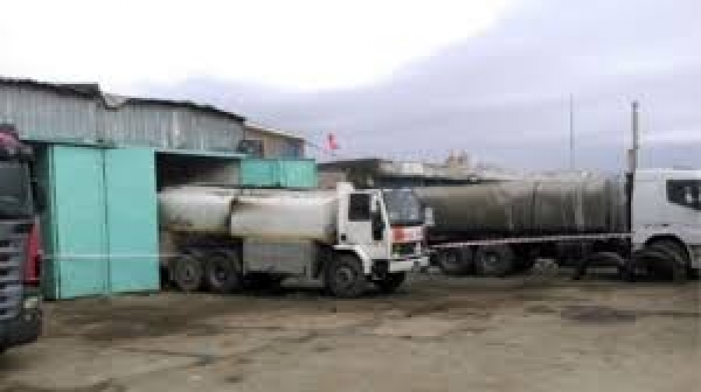 Akaryakıt tankeri patladı bir kişi öldü