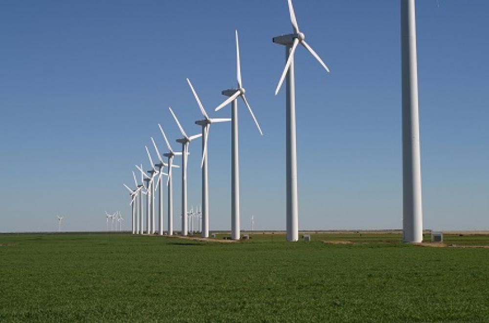 Küresel rüzgar kapasitesi 487 GW'a yükseldi