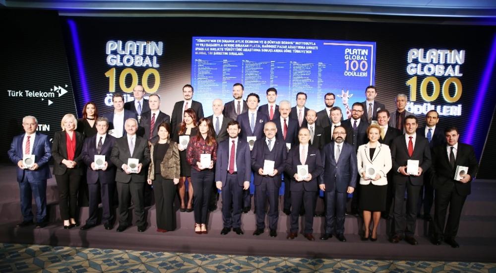 TÜPRAŞ'a Platin Global 100 ödülü