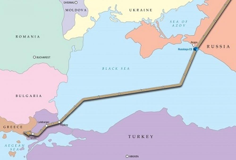 Türk Akımı'nın deniz kısmı inşaası yolda