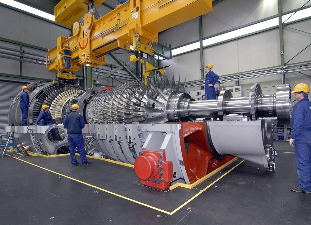Siemens S.Arabistan'a gaz türbini sağlayacak