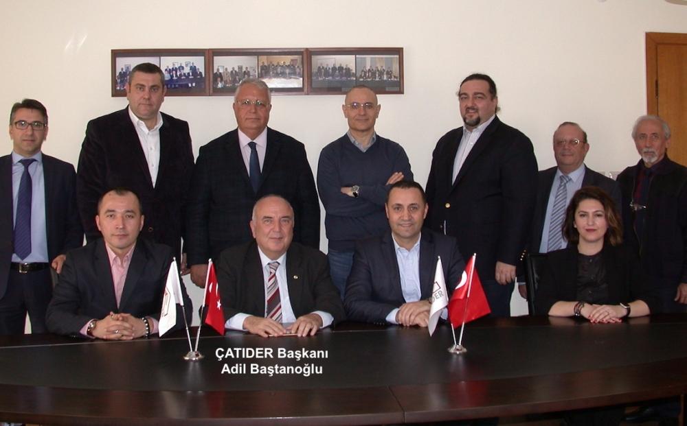 ÇATIDER'in yeni başkanı Adil Baştanoğlu