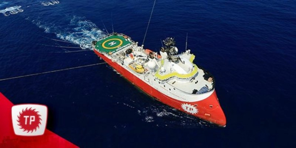 K.Kıbrıs yönetiminden Barbaros sismik gemisine izin