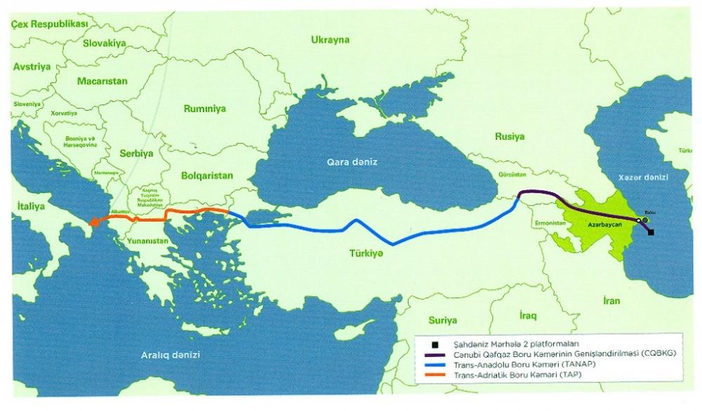 Snam'dan Gazprom'a Poseidon yerine TAP önerisi