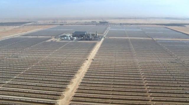 Ortadoğu'nun en büyük güneş santrali