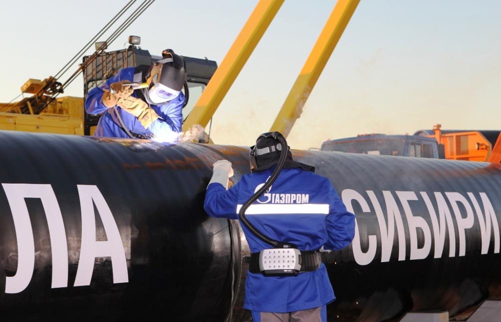 Gazprom, 'Sibirya'nın Gücü' için tarih verdi