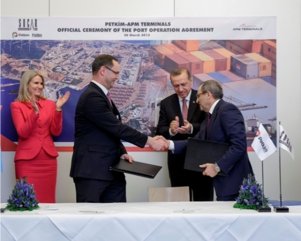 İki liderden Petkim Limanı yatırımına tam destek