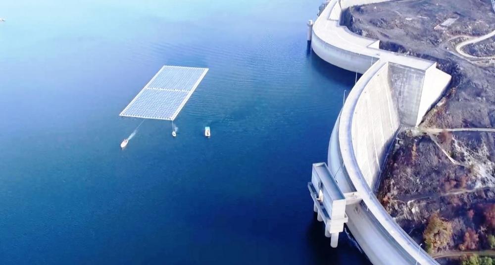 Dünyanın ilk hidro-güneş santrali Portekiz'de