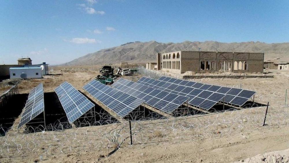 Afganistan'da 55 MW'lık 3 hibrit GES kurulacak