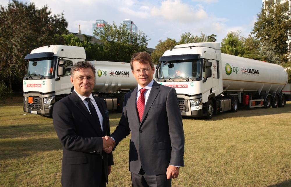 BP akaryakıt ve LPG'yi OMSAN'a taşıtacak