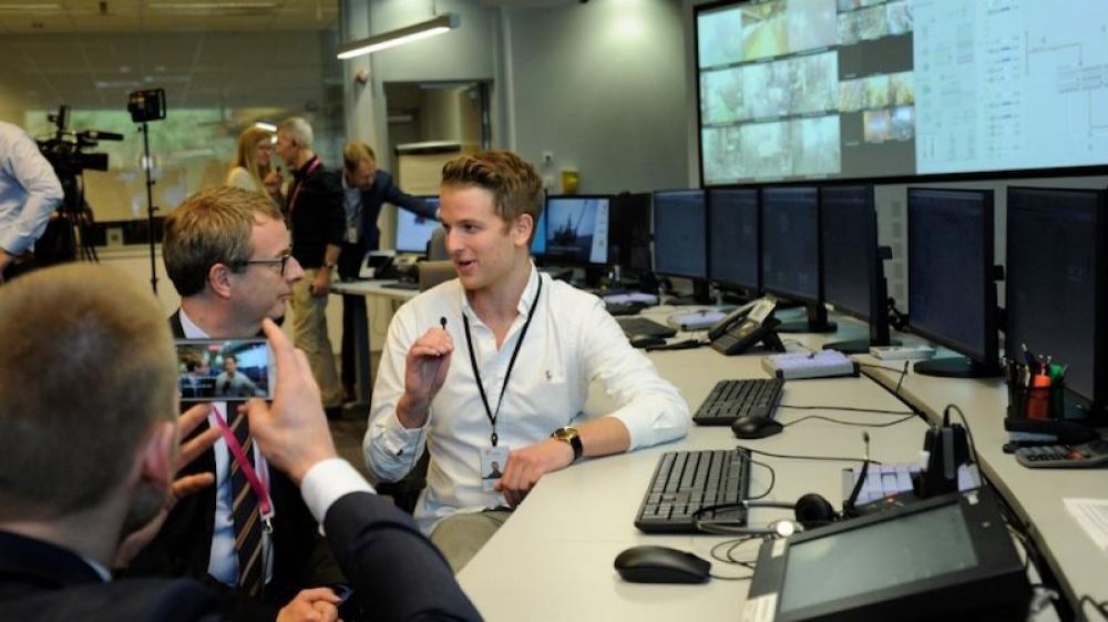 Statoil, platformlarını uzaktan çalıştırmak için düğmeye bastı