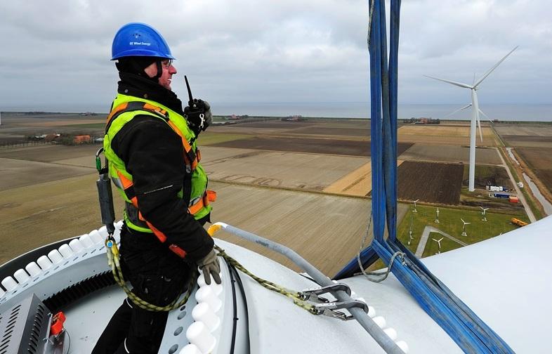 GE'nin 'dünyanın en verimli' rüzgâr türbini faaliyette